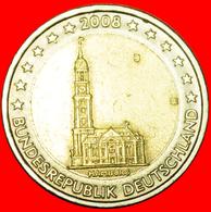 + HAMBURG: GERMANY ★ 2 EURO 2008J NOT OLD MAP! LOW START ★ NO RESERVE! - Germania