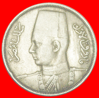 + ROUND TYPE (1938-1941): EGYPT★ 10 MILLIEMES 1357-1938!  FAROUK (1936-1952)! LOW START ★ NO RESERVE! - Egypt