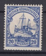 Germany Colonies South-West Africa, Sudwestafrica 1906 With Watermark Mi#27 Mint Hinged - Colony: German South West Africa