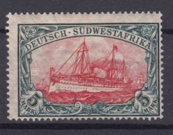 Germany Colonies South-West Africa, Sudwestafrica 1906 With Watermark Mi#32 Mint Hinged - Colony: German South West Africa