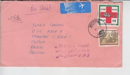 Austria Cover, Red Cross Stamps     (A-2600-special-1) - 1945-.... 2. Republik