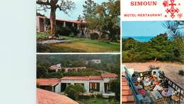 "CPSM FRANCE 20 ""Corse, Favone, Motel Restaurant Simoun"" - France"