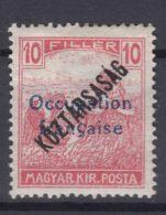 France Occupation Hungary Arad 1919 Yvert#31 Mi#35 Mint Hinged - Neufs