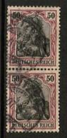 GERMANY  Scott # 88 VF USED PAIR (Stamp Scan # 504) - Germany