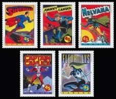 Canada (Scott No.1583a - BD Superheroes / Comic Book Superheroes) [**] Série / Set - 1952-.... Règne D'Elizabeth II