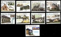 Canada (Scott No.1755a-i - Maisons Canadiennes / Housing In Canada) (o) - 1952-.... Règne D'Elizabeth II