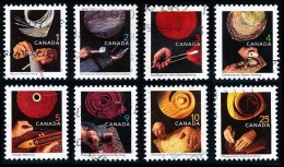 Canada (Scott No.1673-80 - Métiers Traditionels / Traditional Trades) (o) Série / Set - 1952-.... Règne D'Elizabeth II