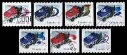 Canada (Scott No.2779-85 - Resurfaceuse / Zamboni) (o) Set / Série - 1952-.... Regering Van Elizabeth II
