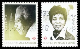 Canada (Scott No.3085-86 - Black Heritage) (o) - 1952-.... Regering Van Elizabeth II
