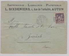 Brief In Die Schweiz (br6044) - Unclassified