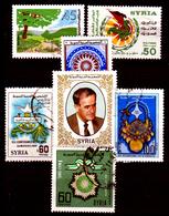 Siria-00130 - Valori Del 1984-85 ++/+/o) MNH/LH/Used - Senza Difetti Occulti. - Siria