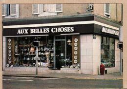 X54039 LUNEVILLE 52- Meurthe Moselle Magasin AUX BELLES CHOSES 42 Rue ALSACE Spécialiste FAÏENCES Cppub 1975s - Luneville