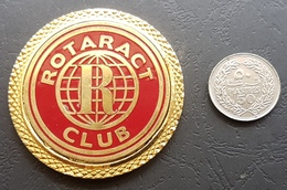 Lebanon ROTARACT Gold Plated Medal, Nice Work, Damaged On The Other Side - Other
