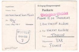 17189 - OFLAG  VIII F WALDSTADT - Marcophilie (Lettres)