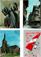 10 / AUBE /  Lot De 90 Cartes Postales Modernes Neuves - Cartes Postales