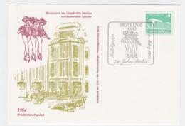 DDR Card Miniaturen Zur Geschichte Berlins Posted Berlin 1985 750 Jahre Berlin (DD11-38) - Storia