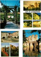 47 / LOT & GARONNE /  Lot De 90 Cartes Postales Modernes Neuves - 5 - 99 Postales
