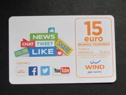 ITALIA WIND - NEWS CHAT .... 15 EURO SCAD. 30/06/2022 - USATA - Italia
