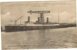 """44 -  Saint NAZAIRE - Chantier De L'Atlantique Le  Paquebot """" LUTETIA """"  118 - Saint Nazaire"""