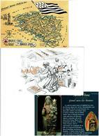 BRETAGNE /  Lot De 90 Cartes Postales Modernes Neuves - Cartes Postales