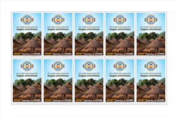 GUINEA REP. 2019 MNH Intl. Year Of Indigenous Language Sprache Langue M/S - IMPERFORATED - DH1918 - Languages