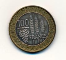1950 // Essai 100 Francs BAZOR Bi-Métallique - Francia