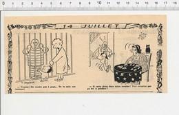 Humour Chute Dans Escalier Cartomancienne Tireuse De Cartes Hibou  223LB - Vecchi Documenti