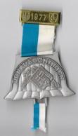 MEDAILLE Marche Populaire Organisée Par Le 110° RI En Allemagne En 1977 - DONAUESCHINGEN - France