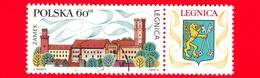 Nuovo Obl. - POLONIA - 1970 - Turismo - Castello Di Legnica - Stemma  - 60 - Neufs