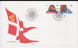 Denmark 1990  FDC Europa CEPT (DD11-41) - Europa-CEPT