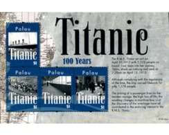Ref. 278918 * MNH * - PALAU. 2012. TITANIC . TITANIC - Palau