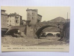 SOSPEL - Le Vieux Pont - Excursion Aux Environs De Menton - Edition Giletta - 1202 - Sospel