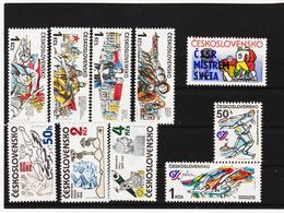 Post185 TSCHECHOSLOWAKEI CSSR 1985 MICHL 2812/21 ** Postfrisch SIEHE ABBILDUNG - Tschechoslowakei/CSSR