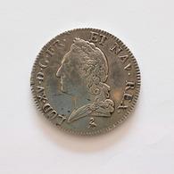 Ecu LOUIS XV Vieille Tête 1774 A - 987-1789 Royal