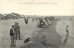 CANET PLAGE (Pyrénées Orientales) La Plage RV - Canet Plage