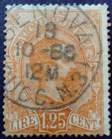 Italie Italy Italia Colis Postaux Pacchi Postali 1884 Yvert 5 O Used Usato - 1878-00 Humbert I.