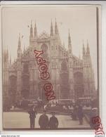 Au Plus Rapide Italia Italie Milano Milan Albuminé XIX E Siècle - Oud (voor 1900)