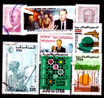 Siria-00133 - Valori Del 1987-88 (++/o) MNH/Used - Senza Difetti Occulti. - Siria