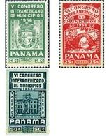 Ref. 45089 * MNH * - PANAMA. 1956. 6th INTERAMERICAN DISTRICT CONGRESS . 6 CONGRESO INTERAMERICANO DE MUNICIPIOS - Panama