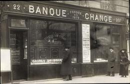 Photo Cp Bankque Change, Wechselstube, Bankfiliale - Métiers