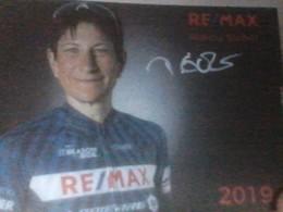 CYCLISME 2019: CP MARCIA EICHER SIGNEE TEAM REMAX - Wielrennen