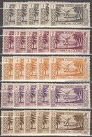 5x French Polynesia 1934, Fishing (MNH, **) - Stamps