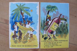 Martinique - 2 CP Neuves - Collection Martinique N° 9 & 10 - TTB - Martinique