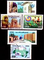 Siria-00135 - Valori Del 1988 (sg/o) NG/Used - Senza Difetti Occulti. - Siria