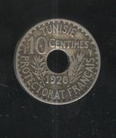 10 Centimes Tunisie 1920 - Tunisia