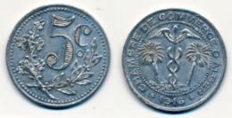 1916 // ALGERIE // CHAMBRE DE COMMERCE // 5 Centimes - Colonies