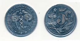 1919 // ALGERIE // CHAMBRE DE COMMERCE // 5 Centimes - Colonies