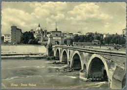 °°° Cartolina N. 51 Roma Ponte Milvio Nuova °°° - Ponts