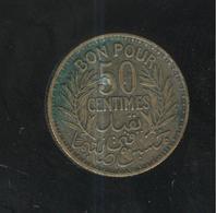 50 Centimes Tunisie 1926 - Tunisia