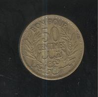 50 Centimes Tunisie 1933 - Tunisia